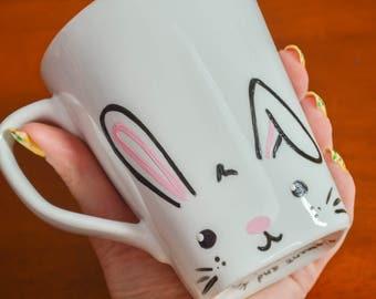 Custom Bunny Mug for romper1
