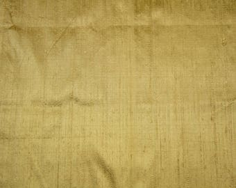 Sample Swatch  - Raw silk Dupioni Gold