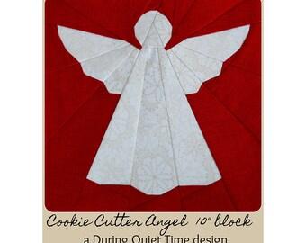 Cookie Cutter Angel Paper Pieced Pattern