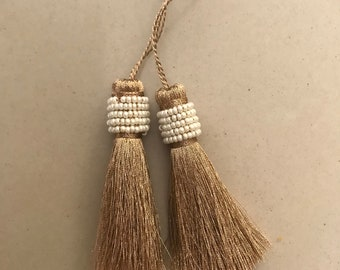 Indian Sewing embellishments fashion tassel for blouse. Decoration hangings purse charms ethnic tuft