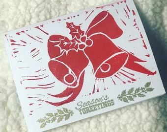 Christmas Bells Holiday Cards (10 pack)