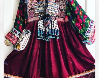 Free shipping / Gypsy Dresses / Kuchi / Tribal / Boho / Afghani / Vintage