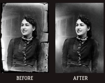 Photo Restoration | old | damaged | digital | retouch | retouching | restore