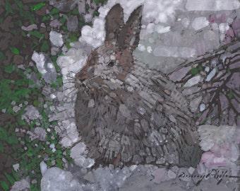 Snow Bunny   /print