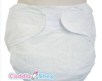 Cuddlz All in one adult velcro fastening nappy diaper