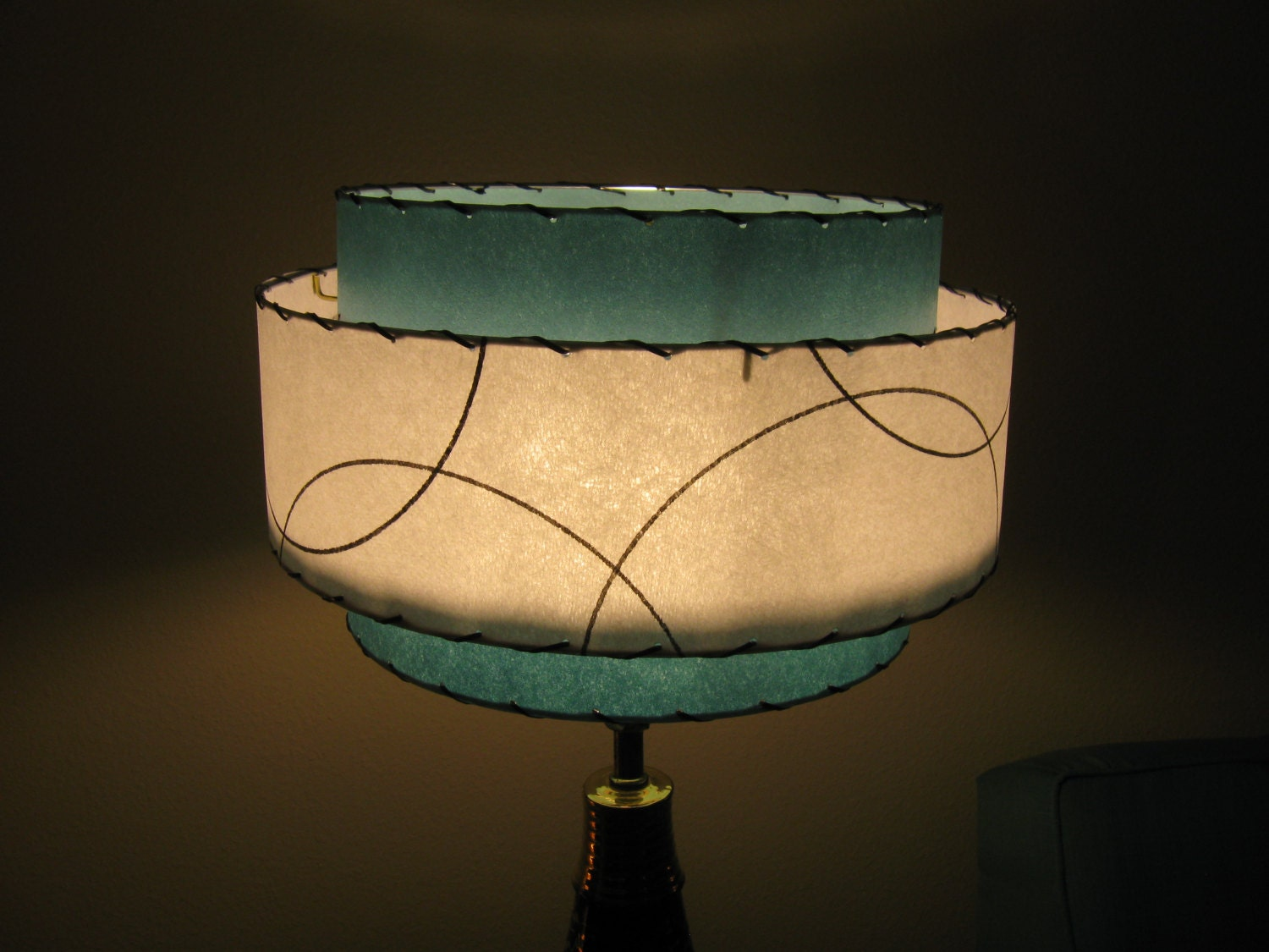 Made to order mid century vintage style 3 tiered fiberglass zoom mozeypictures Image collections