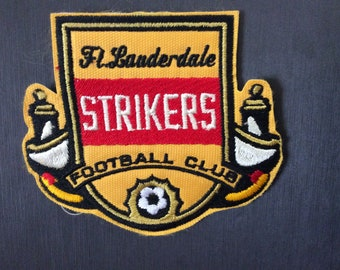 Patch Fort Lauderdale Strikers FC - NASL - North American Soccer League - Dissolved Team - Florida
