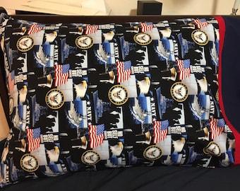 United States Navy Military Pillowcase
