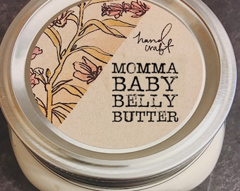 8 oz Momma Baby Belly Butter