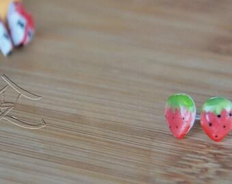NEW DESIGNS ceramic stud earrings cute cartoon characters *on sale*