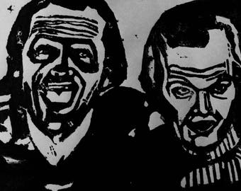 The Shining ink Print
