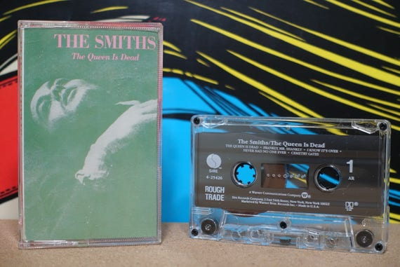 The Queen Is Dead by The Smiths Vintage Cassette Tape