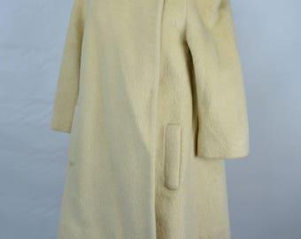 1950s Lilli Ann Mohair Coat, 1950s Lilli Ann Vintage Coat, Wool Coat, 50s Coat, Lilli Ann Coat, Coat, 1950s Princess Coat, 50s Swing Coat