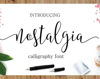 Font Fonts Digital font Swirly Font Script Font Digital download swash font Handwritten font calligraphy font wedding font Cricut font