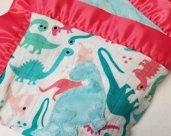 Minky backed tula blankets