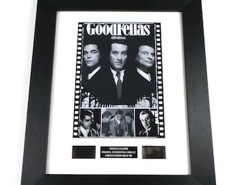 Goodfellas Film Cells Movie Memorabilia in Picture Frame
