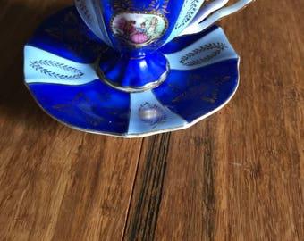 19 th century Helena Wolfsohn cup and saucer