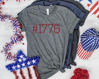 1776, 4th Of July Shirt, Patriotic Shirt, Independence Day, American Shirt, Merica Shirt, Fourth Of July Shirt, Usa Shirt, Party Shirt
