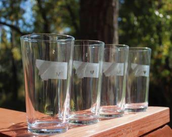 Montana Pint Glasses