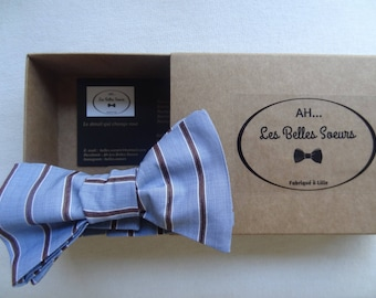 Cotton fabric Alexander knotted bow