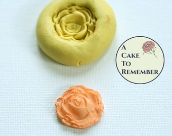 Silicone rose mold for cake decorating, cupcakes decorating, cake pops, chocolate, hard candy, polymer clay, silicone mould. M040