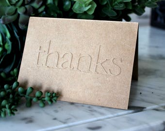 Set of Five - Thank You, Birthday, Wedding Cards - Pick any Five