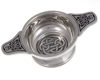 Lughs knot quaich  -Hand Made and Design in UK