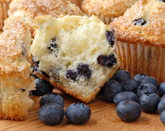 Blueberry Muffins Scented Shower Gel, Whipped Body Butter, Lotion, Body Spray, Bath Soak, Shampoo or Conditioner
