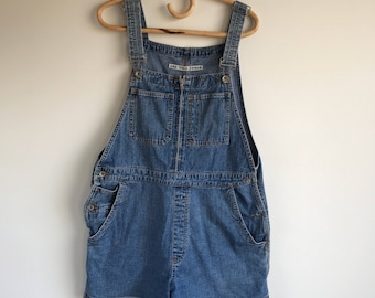 Vintage Denim Overall shorts Size XL by Gap