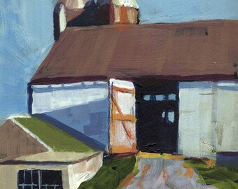 Lancaster County Barn original acrylic painting