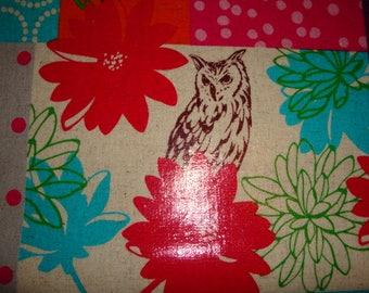 Echino fabric with film