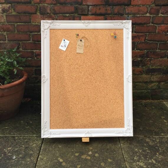 large framed corkboard extra large pin board ornate cork. Black Bedroom Furniture Sets. Home Design Ideas