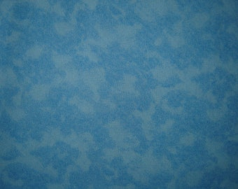 Charlie Brown Halloween Great Pumpkin Blue fabric From Quilting Treasures