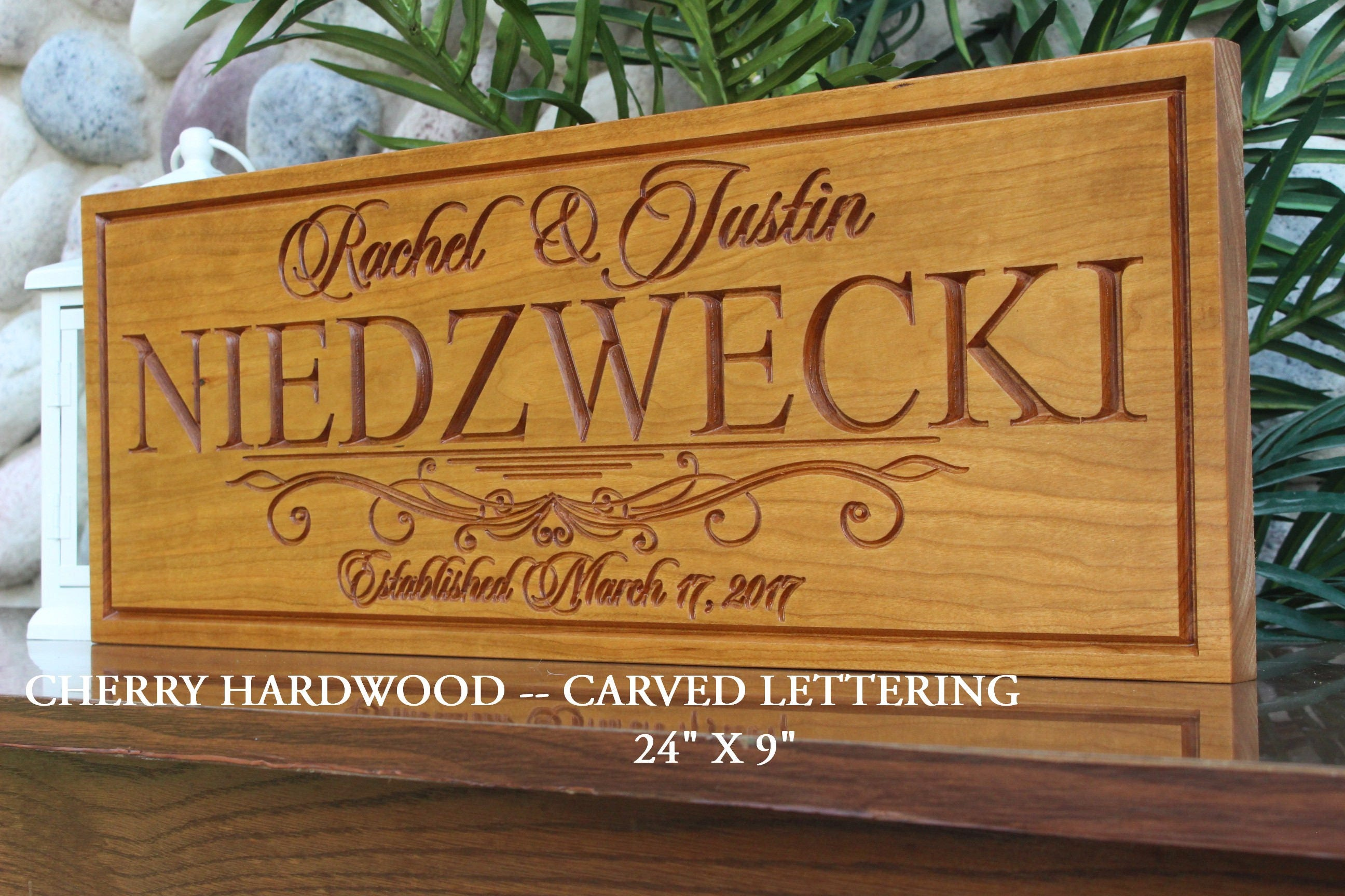 Engraved Wedding Gifts For Bride And Groom: Personalized Wedding Gift For The Couple-bride And Groom
