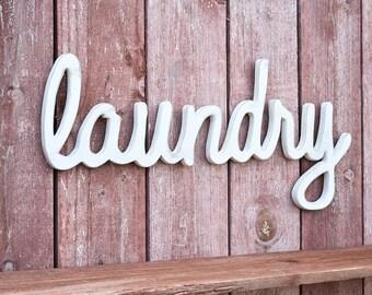 Laundry Sign, Laundry Room Decor