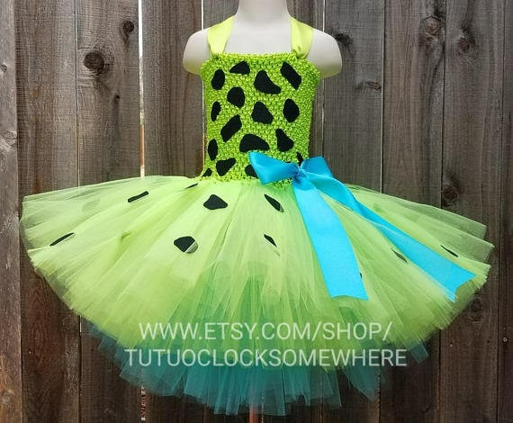 Flinstones Pebble Tutu Dress