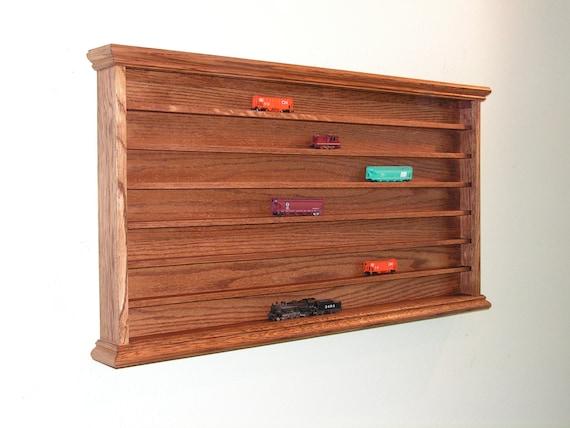 n gauge train display case cabinet showcase model railroad
