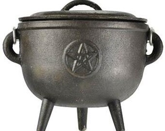 Cauldron Pentagram - Cauldron Pentagram Offerings Incense Witch Craft Ritual Invocation