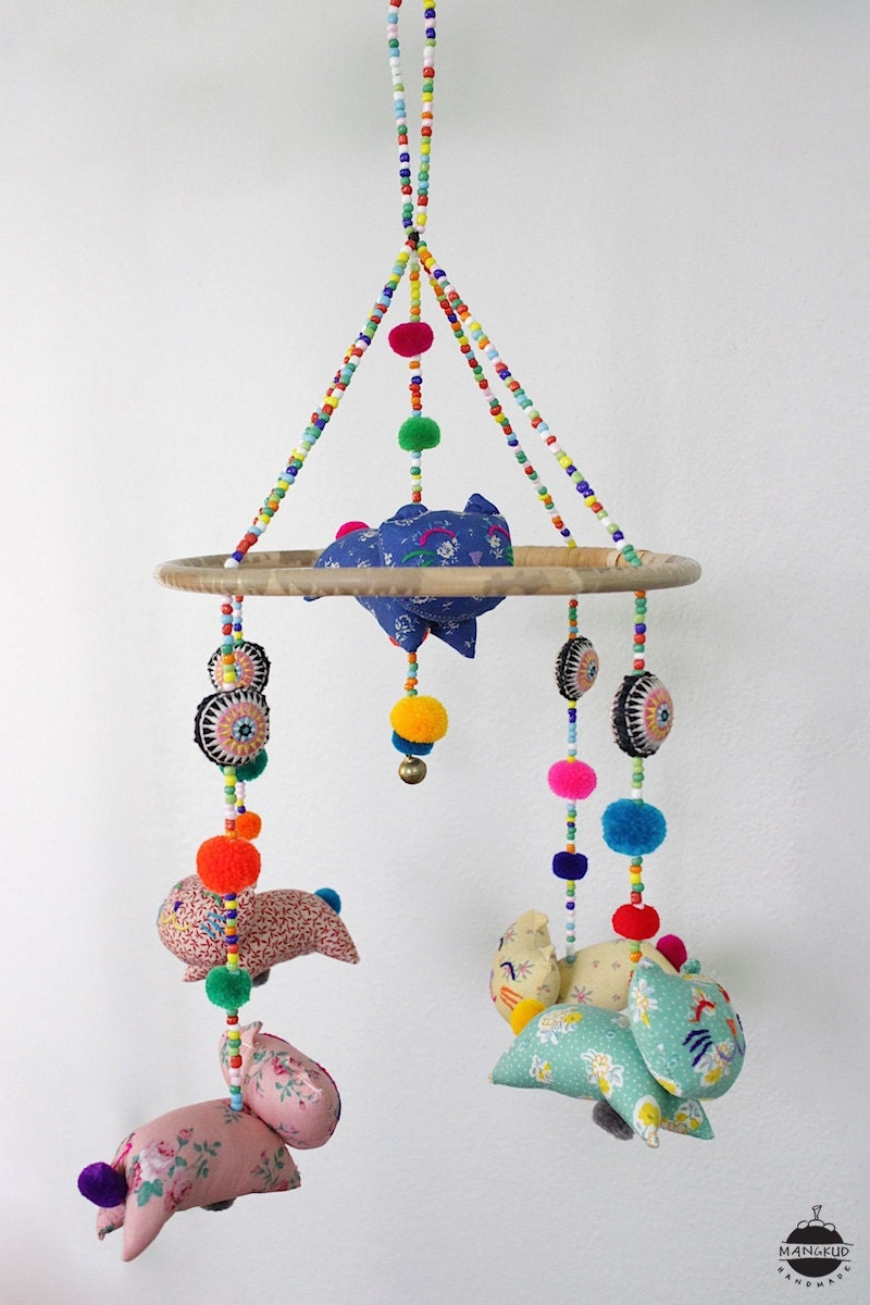 llc dundry cribs for balloons hill air baby crib mini felt mobile products mobiles hot