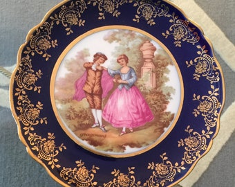Limoges France Collectible China Plate