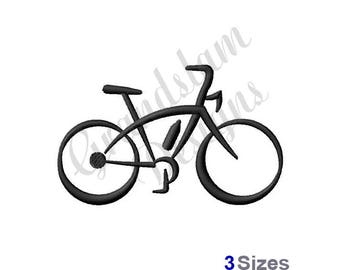 Abstract Bicycle - Machine Embroidery Design