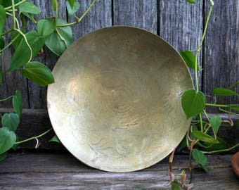 Gorgeous Old Brass Bowl
