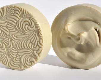Homemade Soaps His and Hers Shaving Soap Shave Soap Natural Soap Cold Process soap Handmade soap Easter gifts for him Vegan soap Clay Soap