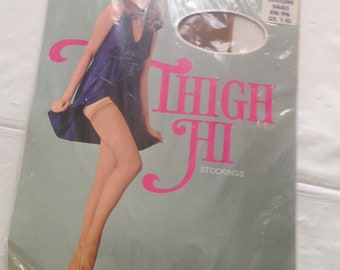 Vintage Thigh Hi Stockings