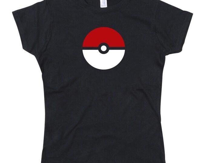 Ladies Pokemon Go Pokeball Tribute Tshirt