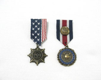 Steampunk medals , set of two