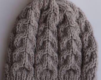 Bonnet gris mixte