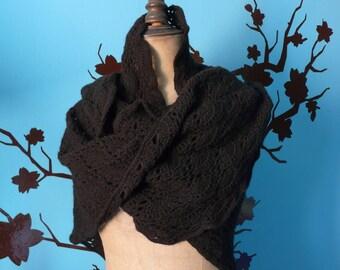 great black shawl