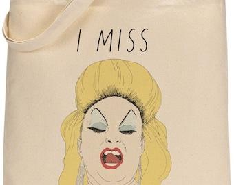 I MISS DIVINE tote bag