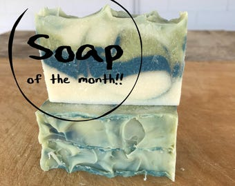 Soap of the Month Club / Cold Process Soap / Vegan Soap / Handmade Soap / Bar Soap
